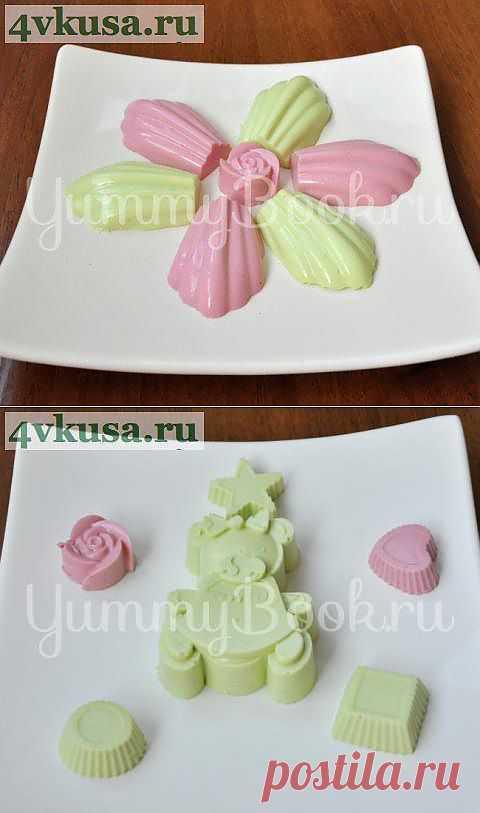 Творожное суфле с желатином | 4vkusa.ru