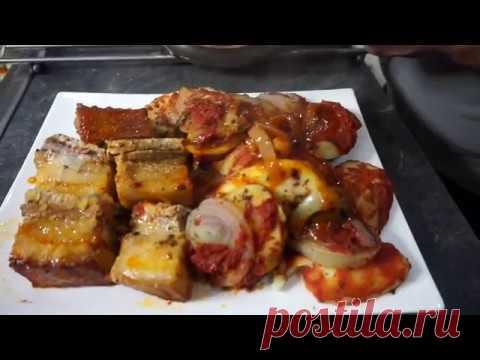 Тушеная свинина по-армянски