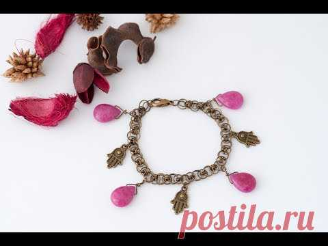 Tutorial bracciale in HELM CHAIN  - chainmail
