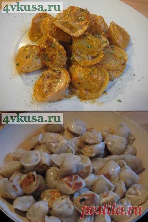 Жареные пельмени. | 4vkusa.ru