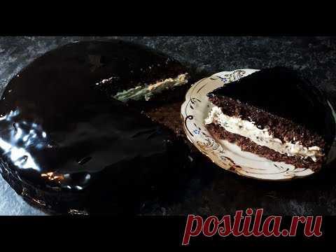 НЕЖНЫЙ ВКУСНЫЙ ТОРТ ПЛОМБИР В ШОКОЛАДЕ на праздник на каждый день к чаю | HOW TO MAKE CHOCOLATE CAKE