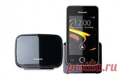 Panasonic KX-PRX120 - DECT телефон на Android OS