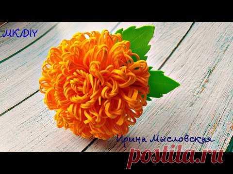 Цветы из фоамирана Украшение для волос. Резинка заколка повязка ободок