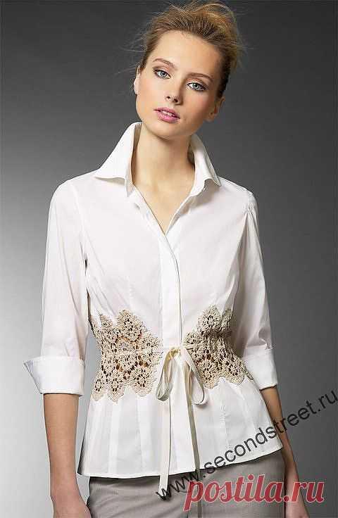 Уменьшение размера блузки / Изменение размера / Модный сайт о стильной переделке одежды и интерьера