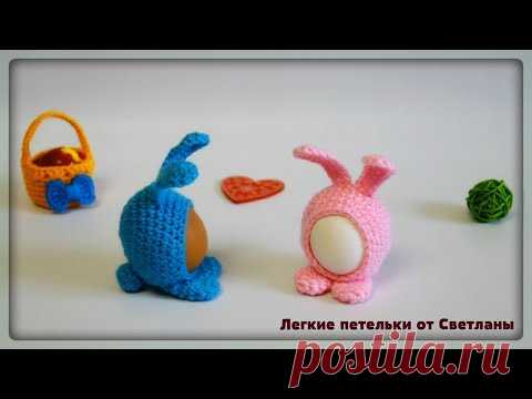 СУПЕР Пасхальный  кролик Мими крючком / Handmade