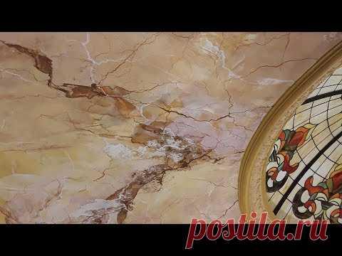 Выслали Мастеру Венецианку -Что Вышло?! Creama Bianco Stucco Veneziano Wowcolor