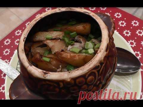 Гуляш в горшочке в духовке - пошаговый рецепт с фото на Повар.ру