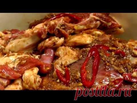 Как правильно запекать баранину в духовке чтобы мясо было мягким