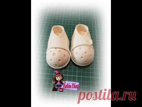 Tutorial zapatos fofucha enfermera