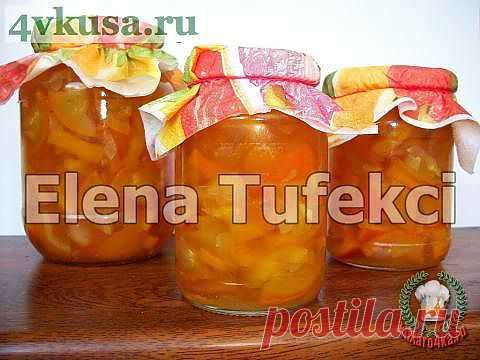 Варенье «Янтарное» из кабачков | 4vkusa.ru