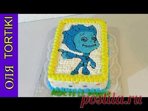 FIKSIKI cake Decoration of cake a proteinaceous custard Cakes without mastic