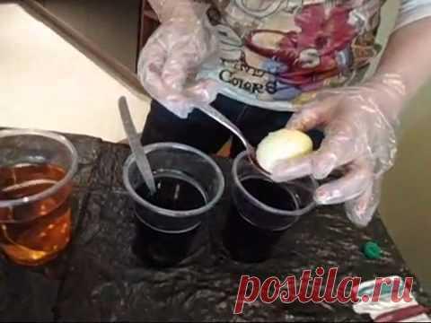 Красим яйца к Пасхе: 3 необычных способа - YouTube