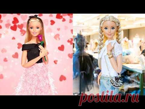 How To Make Barbie Clothes 👗 5 DIY Easy Doll Clothes 👗 Doll Clothes Tutorial