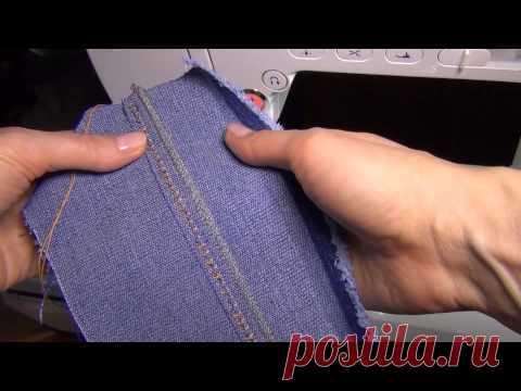 Как шить двойными иглами