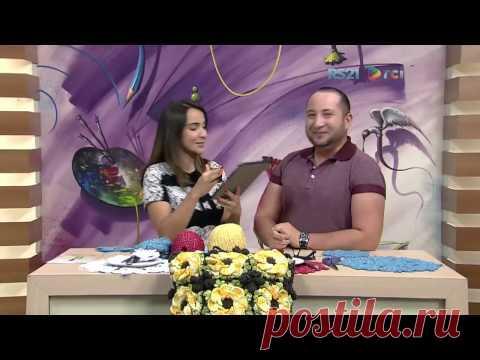 Crochetando com EuroRoma e Marcelo Nunes - Sousplat Borboleta | Parte 1