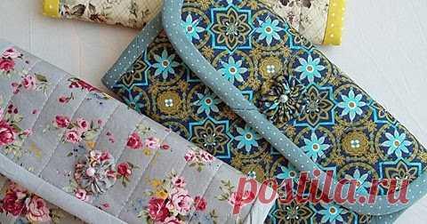 92e84bc22f893 Домики для денюшек. Кошелечки. Текстильный кошелек своими руками ...