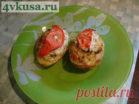 Фаршированная картошка | 4vkusa.ru