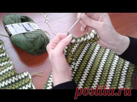 Jacket a hook in Chanel's style. Part 3. - YouTube