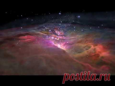 НАСА опубликовало видео «полета» сквозь Туманность Ориона, яркость которой позволяет увидеть ее из любой точки Земли #Видео