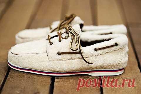 Меховые шузы / Обувь / Модный сайт о стильной переделке одежды и интерьера