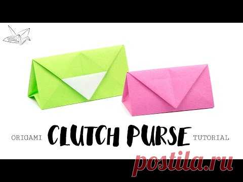 How To Make A Purse With Origami Paper New Image Of Purse