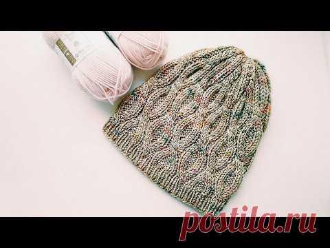 ШАПКА - ХИТ спицами МАСТЕР КЛАСС Вязание Knit Mom knitting мк мастер-класс своими руками wool одежда Как связать шапку спицами. Шапка с аранами. Снизу по кругу. *подписаться на канал https://goo.gl/YV49mg *почта knit.lod@gmail.com Подойдет для тех, кто знает...