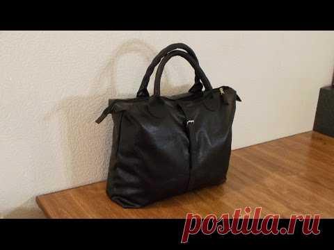 6374892e55e4 Дорожная сумка своими руками. Полуплоская. DIY Travel bag | сумки ...