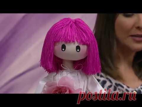 Mulher.com - 29\/06\/2016 - Boneca de pano - Silvia Torres PT2