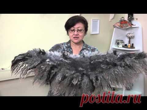 """""""Дикие шарфы"""" Tatiana Hohlova. El vídeo la clase maestra. El anuncio"""