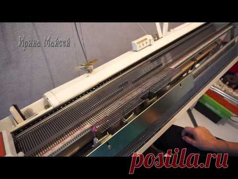 Sleeve knitted from above 1 part - YouTube