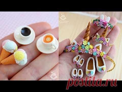 Gorgeous DIY Miniature Dessert Recipes& Dessert Recipes for Barbie