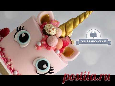 Unicorn Cake Tutorial Pink Valentines Day Unicorn Cakes
