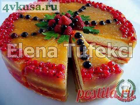 Торт «Ягодно-фруктовый блюз» | 4vkusa.ru