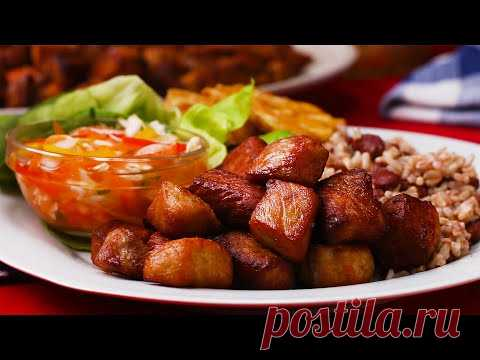 Haitain Griot and Pikliz