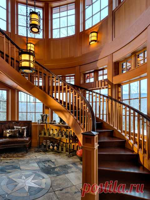15 потрясающие конструкции сельской лестницы