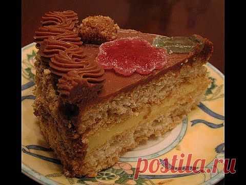 Киевский торт - YouTube