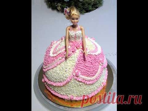 La formalización de crema de la torta de Barbi.