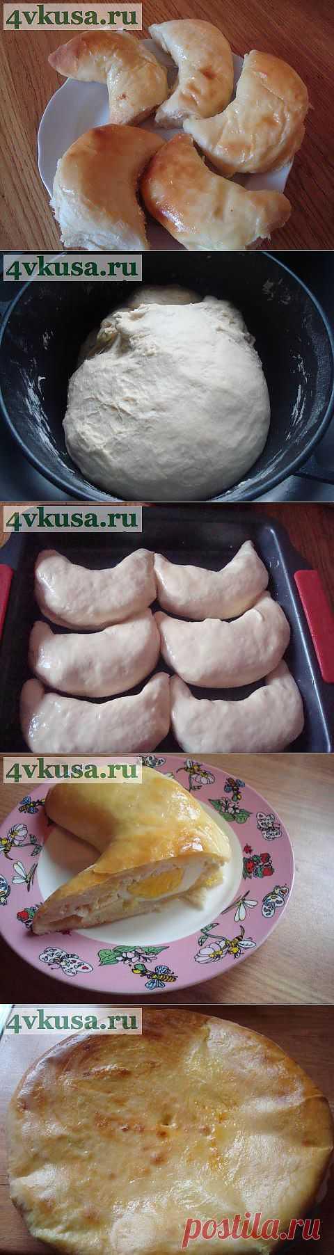 Гурийские пирожки (Гвезели) и хачапури | 4vkusa.ru