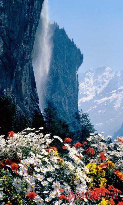 Прекрасная горная Швейцария