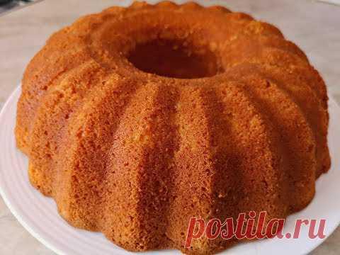 Ванильный Кекс на Кефире. Самый Простой Рецепт.| Vanilla Cake - YouTube