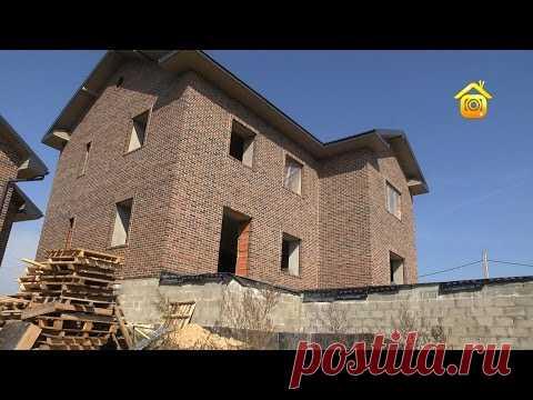 Сбывайся, мечта большая и маленькая: дом из теплой керамики и гараж в  гостевом доме // FORUMHOUSE