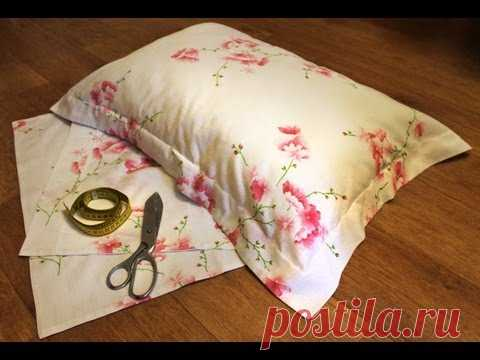 """How to sew the Pillowcase with """"УШКАМИ"""" - easy and fast way."""