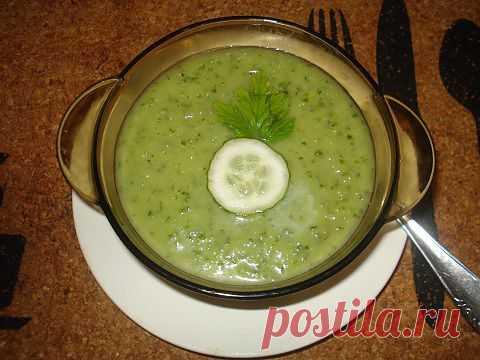 Гаспачо-холодный суп.