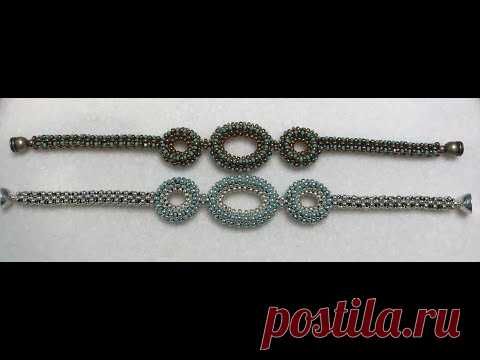 Orb Bracelet - Cubic Right Angle Weave