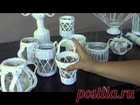 ▬► Romantic collection. Wattled candlesticks. Part 1.