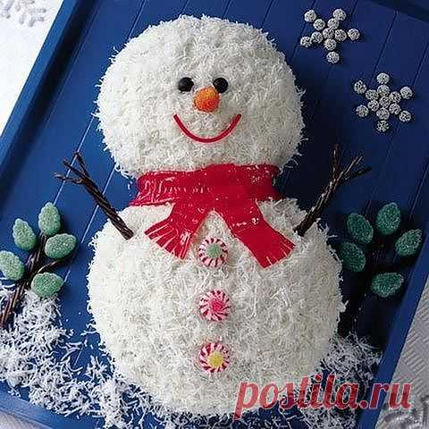 "торт""Снеговик"""