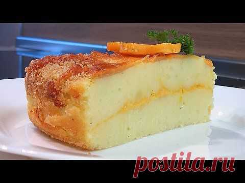 Картофельный пирог с сыром.