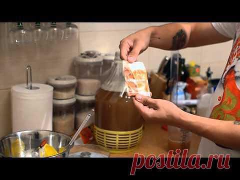La sidra improvisada de manzana - YouTube