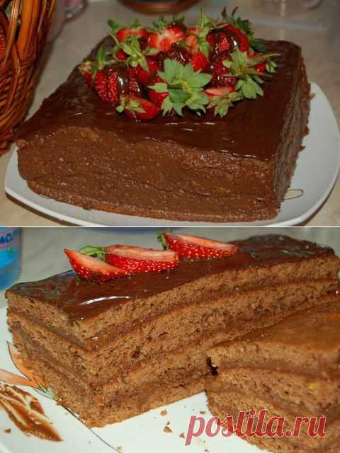 торт шоколадное кухэ рецепт с фото время