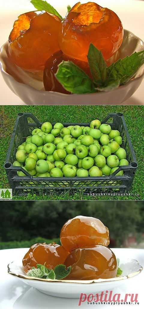 Варенье из яблок   Бабушкины плюшки